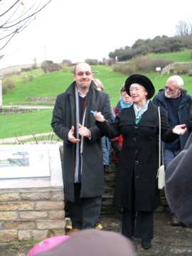 Jim Knight opens Swanage Seen Trail