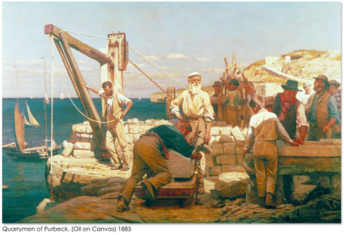 Henry Tanworth Wells - Quarrymen of Purbeck